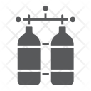 Oxygen Tank Diving Icon