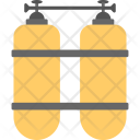 Oxygen Tanks Diving Icon