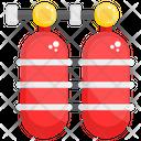 Oxygen Cylinder Scuba Cylinder Oxygen Tank Icon