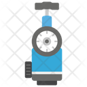 Oxygen Therapy Device Gas Cylinder Oxygen Tank Icon
