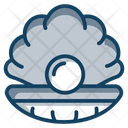 Nacre Shell Oyster Icon