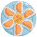 Oyster Seafood Food Icon