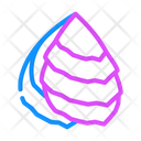 Oyster Ocean Fish Icon