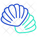 Oyster Shell Seafood Icon