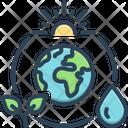 Ozone Layer Environment Icon