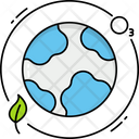 Ozone Layer Atmosphere Planet Earth Icon