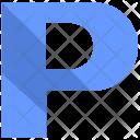 P alphabet Icon