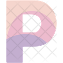 P Sign Alphabet Icon