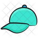 P Cap Cricket Hat Headgear Icon