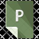 P file Icon