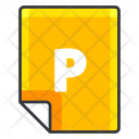 P File Extension Icon