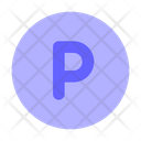 P Sign Sign Public Domain Circle Icon