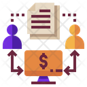 P 2 P Lending Loan Icon