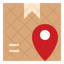Pacel Location Map Icon