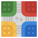 Pachisi Tabletop Pachisihobbies And Free Time Icon
