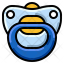 Baby Pacifier Toddler Icon