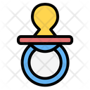 Pacifier Baby Pacifier Dummy Icon