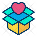 Box Open Box Heart Icon