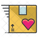 Package Parcel Love Icon