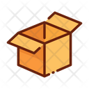 Package Deivery Box Open Box Icon