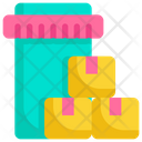 Package Box Shopping Icon