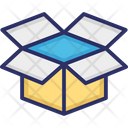 Package Open Box Parcel Icon