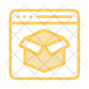 Package Box Window Icon