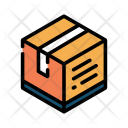 Package Box Courier Icon