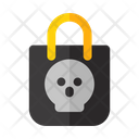 Halloween Package Market Icon