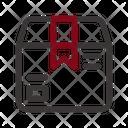 Black Friday Commerce Box Icon