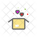 Package Heart Love Icon