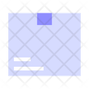 Package Box Delivering Icon