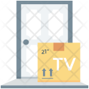Package Box Home Icon
