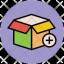 Package Box Carton Icon