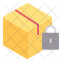Package Padlock Secure Icon