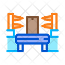 Automation Manufacturing Process Icon