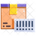 Package Barcode Icon