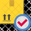 Logistics Delivery Check Icon