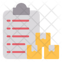 Package Contract Package Paperwork Icon