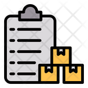 Delivery Package Paperwork Icon