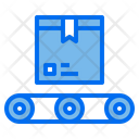 Conveyor Package Box Icon