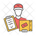 Package Delivery Courier Icon