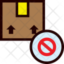 Package Denied Icon