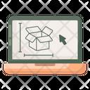 Package Design Parcel Design Cardboard Design Icon