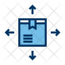 Package Box Distribution Icon