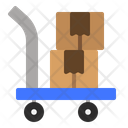 Package Dolly Icon