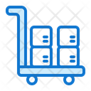 Trolley Truck Delivery Icon