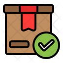 Package Done Box Accept Icon