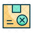 Package Failed Package Box Icon