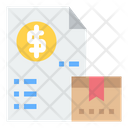 Package Invoice Icon